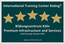 International Training Center Rating Logo